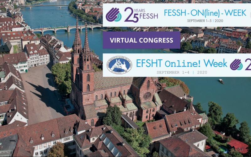 1-4 September 2020, EFSHT Virtual Congress 2020; Online