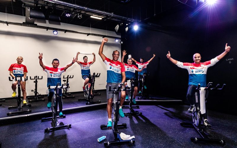 Medical team exceed fundraising target with charity cycle