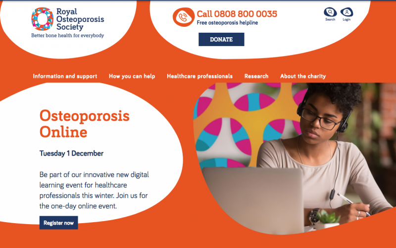 1 December 2020, Osteoporosis Online; virtual event