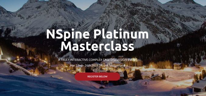 22-26 March 2021, NSpine Arosa Winter Masterclass; Switzerland