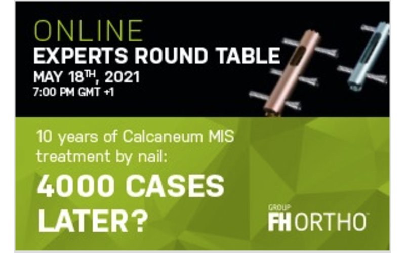 18 May 2021, FH Ortho online experts round table; Online event