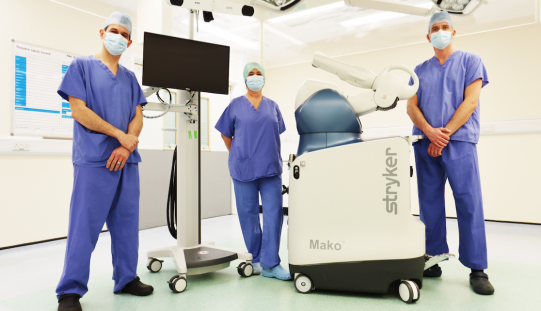 Study into robotic surgery for knee replacement begins with major £1.6 million funding grant