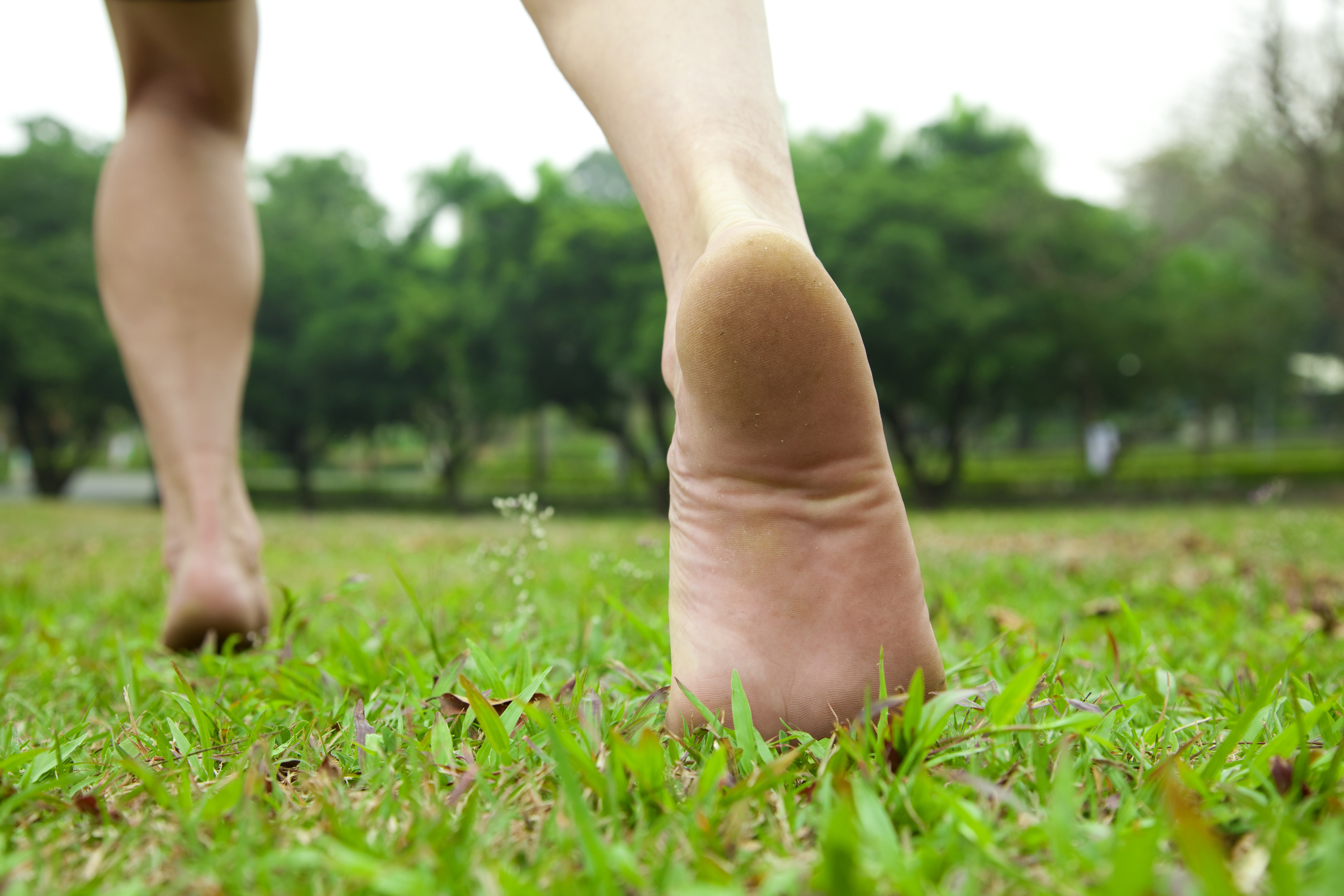 Going Barefoot Could Prevent Common Injuries